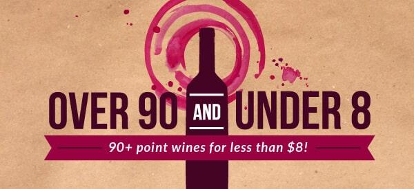 90+ Points & Under $8