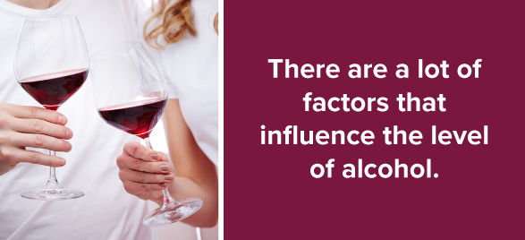 Factors that Influence the Level of Alcohol in Wine
