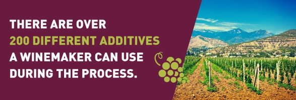 Over 200 Different Additives That Can Be Used in Wine Making