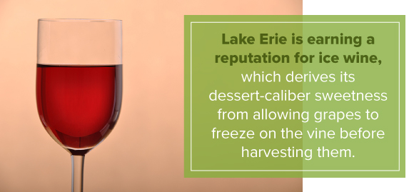 Lake Erie is earning a reputation for ice wine