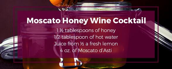 Moscato Honey Wine Cocktail Recipe