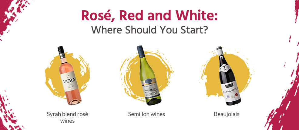 Rosé, Red and White: Where Should You Start?