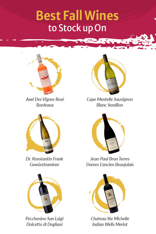 The Best Fall Wines To Stock Up On