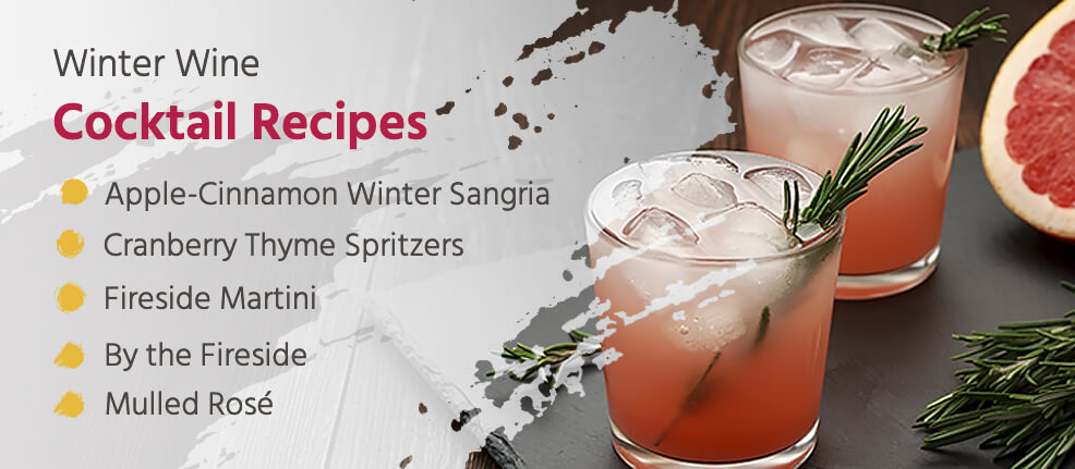 Winter Wine Cocktail Recipes