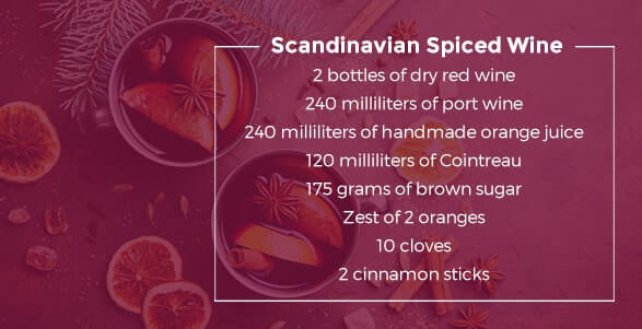 Scandinavian Spiced Wine Recipe