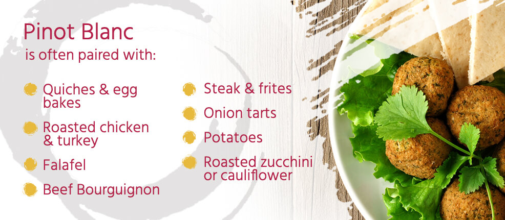 Pinot Blanc Food Pairings
