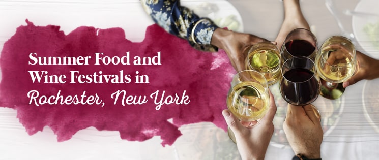 Summer Food and Wine Festivals in Rochester, New York