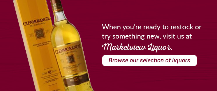 When you're ready to restock or try something new, visit us at Marketview Liquor. Browse our extensive selection of liquors.