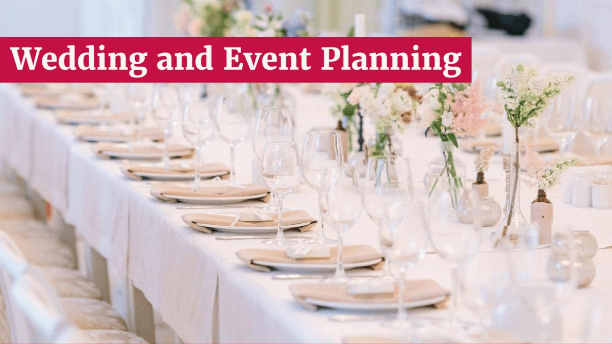 wedding and event wine and liquor planning