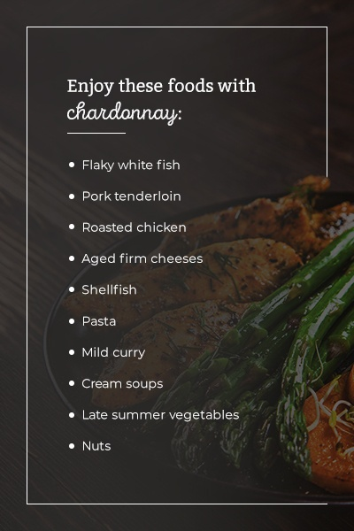 What Does Chardonnay Pair With? Enjoy these foods with chardonnay.