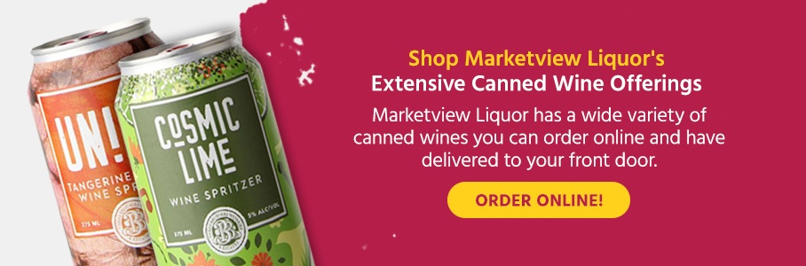 Shop Marketview Liquor's Extensive Canned Wine Offerings