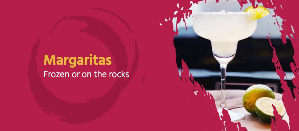Margaritas, Frozen or On the Rocks
