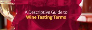 A Descriptive Guide to Wine Tasting Terms
