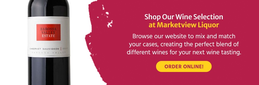 Shop Our Wine Selection at Marketview Liquor. Browse our website to mix and match your cases, creating the perfect blend of different wines for your next wine tasting. Order online!